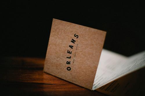 orleans menu