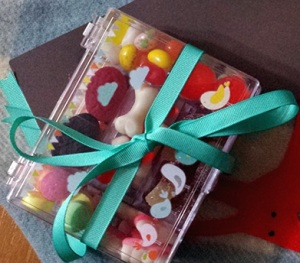 Made lollie boxes for Lani as part of her birthday present.