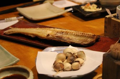 fish at izakaya 1