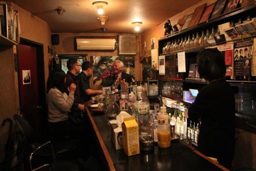 inside Buzz bar