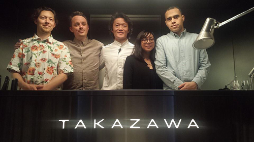 Takazawa and the crew